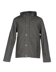 Rvlt Revolution Jackets Military Green