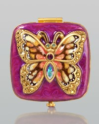 Bella Butterfly Compact Multi Colors Jay Strongwater