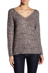 14Th And Union Double V Neck Sweater Petite Multi