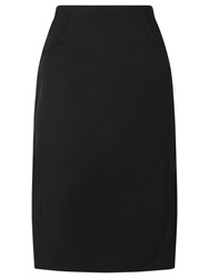 Planet Pencil Skirt Black