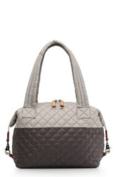 M Z Wallace Mz 'Medium Sutton' Quilted Oxford Nylon Shoulder Tote Black Paloma Magnet