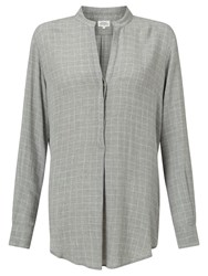 Hartford Colonne Silk Blouse Grey