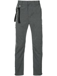 Chapter Tailored Trousers Grey