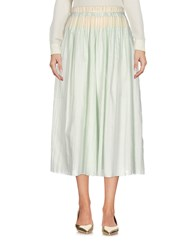 Carlo Contrada 3 4 Length Skirts Light Green
