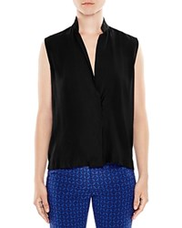 Sandro Louise Sleeveless Top Black