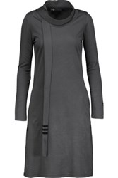 Y 3 Adidas Originals Stretch Jersey Dress Anthracite