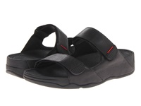 Fitflop Gogh Slide Adjustable All Black Men's Sandals