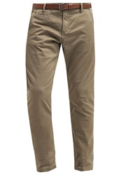 S.Oliver Trousers Military Khaki