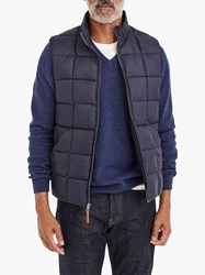 J.Crew Box Quilted Gilet Navy
