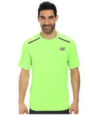 New Balance Tournament Crew Chemical Green Men's Short Sleeve Pullover