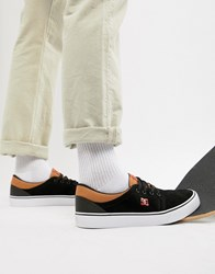 Dc Shoes Trase Sd Trainer In Black And Red