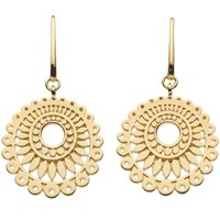Kit Heath Chantilly Drop Earrings Gold