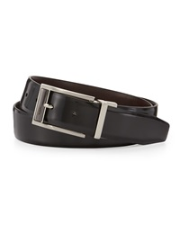 English Laundry Reversible Leather Belt Black Brown