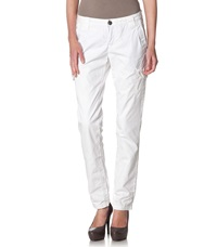 Tom Tailor Cargo Trousers White