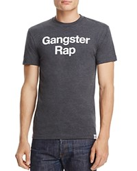 Kid Dangerous Gangster Rap Graphic Tee Charcoal Gray