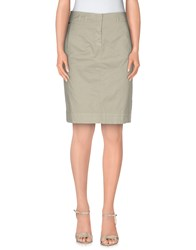 Fabiana Filippi Skirts Knee Length Skirts Women Light Green