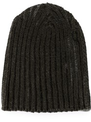 Warm Me Cable Knit Beanie Green