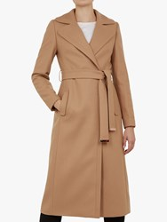 Ted Baker Gabella Wool Rich Tailored Coat Camel