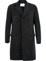 Matthew Miller Sanderm Single Breasted Coat Black