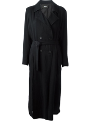 Yang Li Light Weight Trench Black
