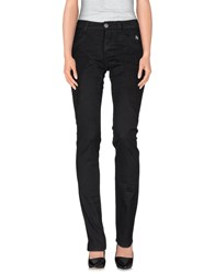 Dog Fox Trousers Casual Trousers Women Black