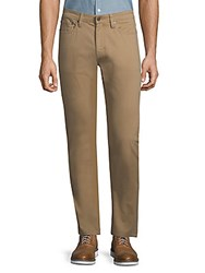Saks Fifth Avenue Woven Khaki Pants