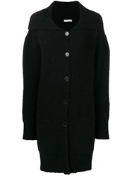 Each X Other Oversized Ribbed Knit Cardigan Blue