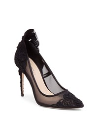 Imagine Vince Camuto Ophelia Floral Pumps Black