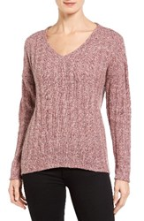 Kut From The Kloth Women's Akiko Rib Knit Top Mauve