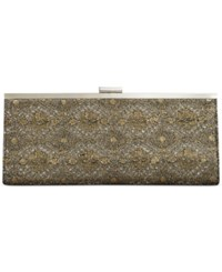 Styleandco. Style And Co. Carolyn Metallic Embroidery Clutch