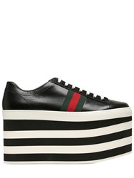 Gucci 140Mm Peggy Leather Sneakers