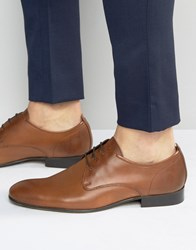 Base London Business Leather Oxford Shoes Tan