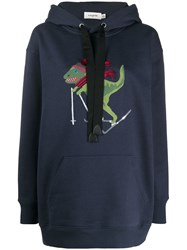 Coach Embroidered Detail Hoodie 60
