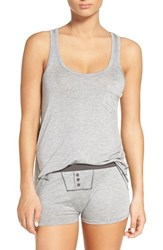 Honeydew Intimates Women's Rib Pajamas Heather Grey