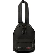 Vetements Mini Logo Patch Backpack Black