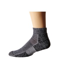 Thorlos Trail Running Mini Crew Charcoal Crew Cut Socks Shoes Gray