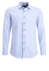 Eterna Slim Fit Shirt Hellblau Light Blue