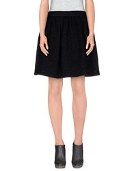 Raoul Skirts Knee Length Skirts Women Black