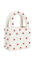 Shrimps Dolly Bag Cream Red