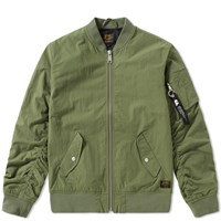 Carhartt Adams Ma 1 Bomber Jacket Green