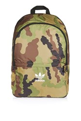 Adidas Camoflage Backpack By Originals Green