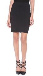 Susana Monaco Straight Pencil Skirt Black