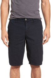 Original Paperbacks Men's 'Havana' Linen Shorts Navy