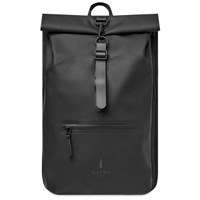 Rains Rolltop Backpack Black
