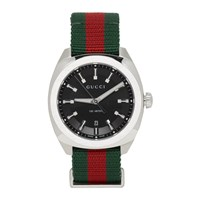 Gucci Silver Gg2570 Watch