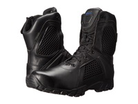 Bates Footwear 8 Strike Side Zip Black Men's Work Boots