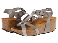 Eric Michael Amy Grey Women's Sandals Gray