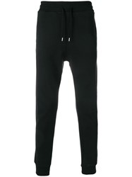 Love Moschino Slim Fit Track Trousers Black