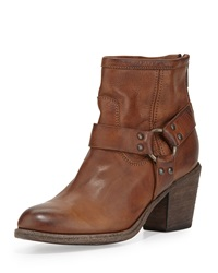 Tabitha Leather Harness Ankle Boot Cognac Frye