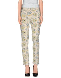 Essentiel Trousers Casual Trousers Women Ivory